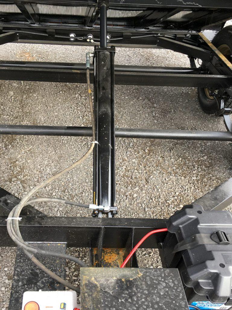 hydraulic dump trailer frame
